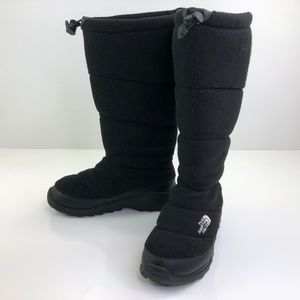 The North Face Fleece Heat Seeker Tall Boot Black